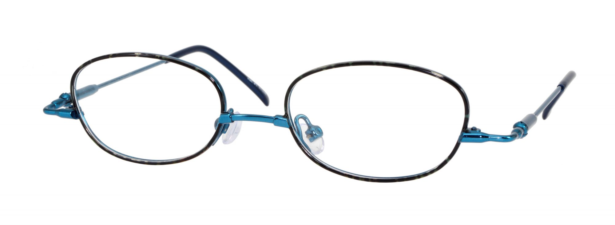 Erin's World frame style number EW-03 in blue demi