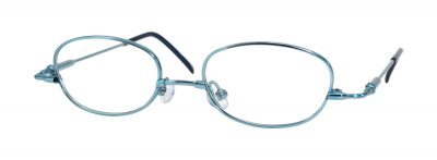 Erin's World frame style number EW-03 in light blue