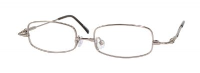 Erin's World frame style number EW-04 in light gunmetal