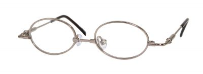 Erin's World frame style number EW-06 in light gunmetal