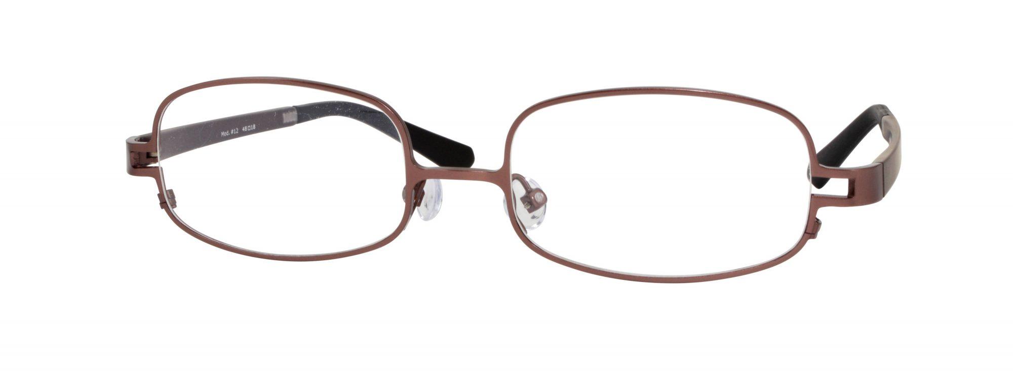 Erin's World frame style number EW-12 in matt brown