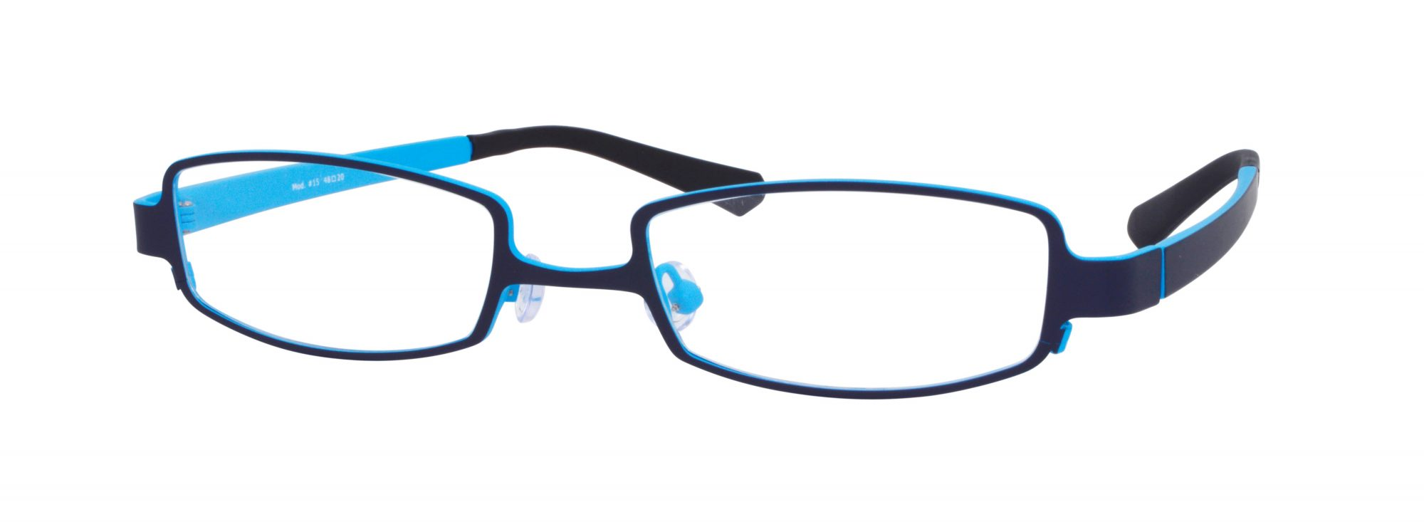 Erin's World frame style number EW-15 in blue and navy matt